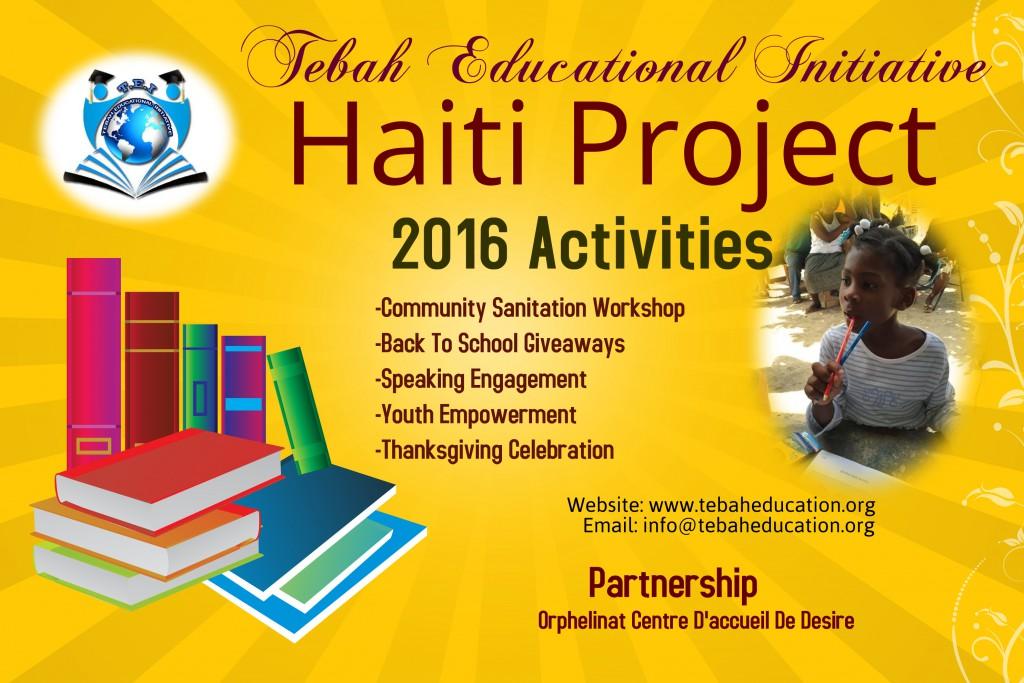 2016 Haiti Project